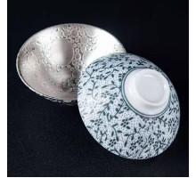 Пиала с серебряным покрытием, 80 мл