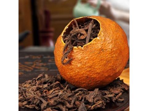 Что за чай такой пуэр в мандарине?