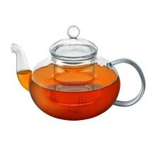 Стеклянный чайник с колбой 800 мл.